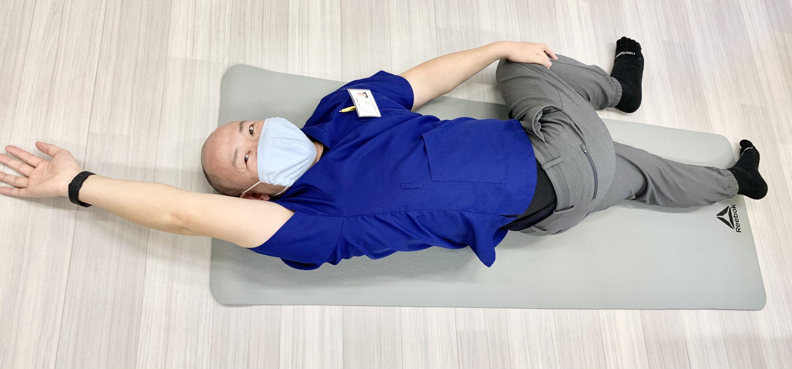 おうちでできるカンタン腰痛体操